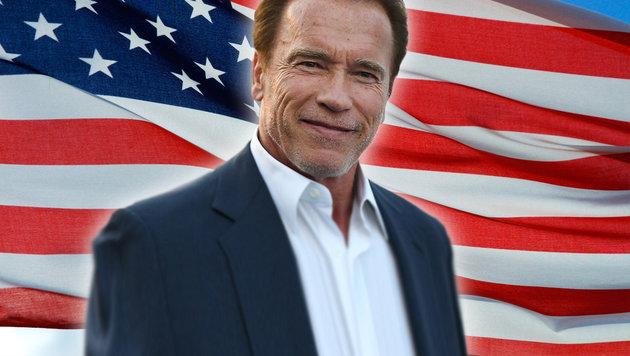 """Arnie: """"So kommen wir aus Schwierigkeiten raus"""" (Bild: thinkstockphotos.de, APA/AFP/Angela Weiss)"""