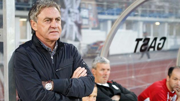 """Schachner: """"Zähle zu besten Trainern Österreichs"""" (Bild: GEPA)"""