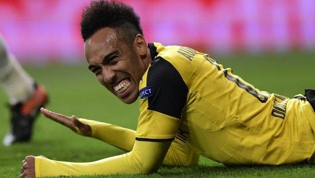 Dortmund-Schock: Aubameyang spricht von Abschied! (Bild: AFP)