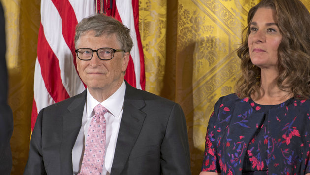 Bill Gates mit Ehefrau Melinda (Bild: MediaPunch/face to face)
