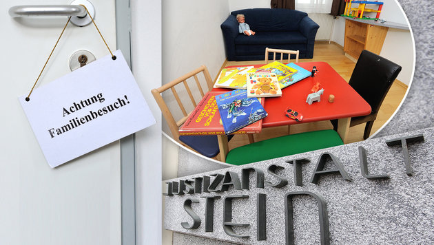 10 Jahre Kuschelzelle: Heile Welt hinter Gittern? (Bild: Gregor Semrad, Martin A Jöchl)