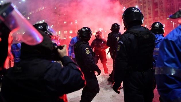 Rumäniens Regierung hob Korruptionsdekret auf (Bild: AFP)