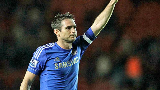 Eine Legende dankt ab: Frank Lampard hört auf (Bild: AP)