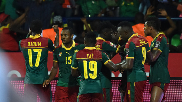 Kamerun nach 2:0 gegen Ghana im Afrika-Cup-Finale (Bild: AFP)