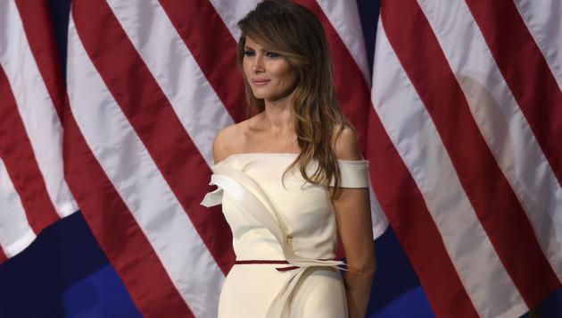 Was ist mit First Lady Melania Trump los? (Bild: AFP)