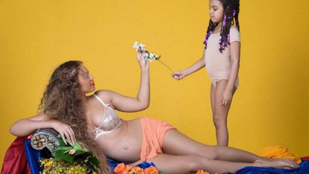 """""""12 WOW-Bilder: So schön ist die schwangere Beyoncé (Bild: www.beyonce.com)"""""""