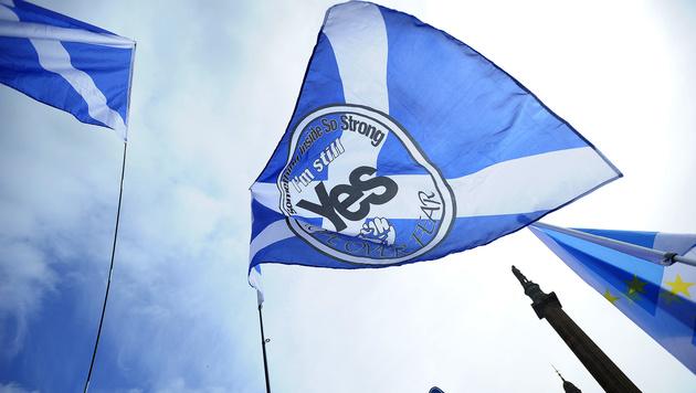Schotten sollen über Unabhängigkeit abstimmen (Bild: AFP)