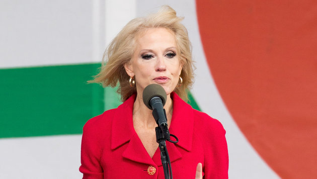 Trumps Beraterin Kellyanne Conway (Bild: AFP/Tasos Katopodis)
