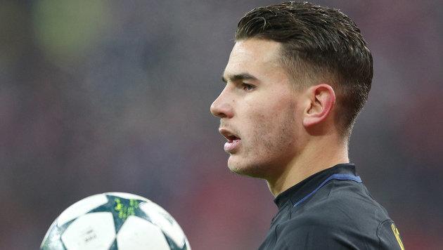 Atletico-Star soll seine Freundin verprügelt haben (Bild: GEPA)