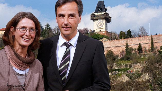 Bekommt Graz eine KPÖ-Bürgermeisterin? (Bild: APA/GEORG HOCHMUTH, thinkstockphotos.de)