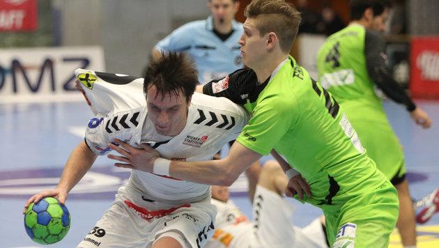 Fivers gewinnen zum Play-off-Auftakt bei Westwien (Bild: GEPA)