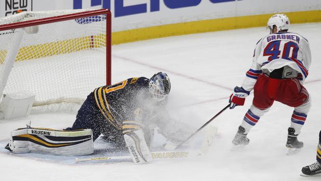 NHL-Stars Grabner und Raffl feiern Siege (Bild: AP)
