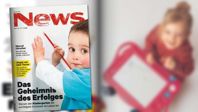 """""""News"""" bekommt wieder neuen Erscheinungstag (Bild: news.at, krone.at-Grafik)"""