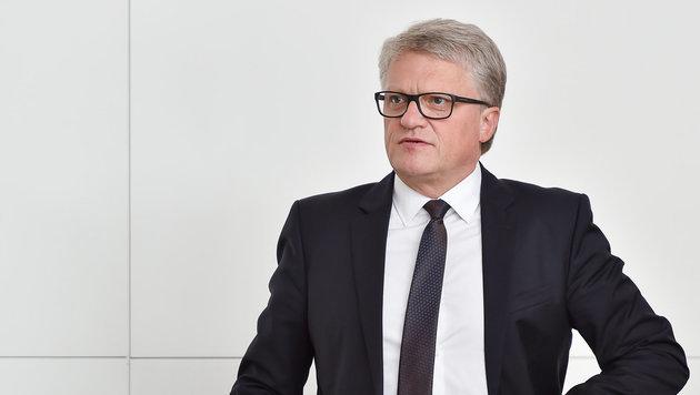 Bürgermeister Klaus Luger präsentierte seinen Reformplan für Oberösterreich. (Bild: Harald Dostal)
