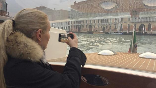Lindsey Vonn genießt einen Kurzurlaub in Venedig. (Bild: instagram.com)