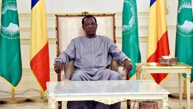 Der tschadische Präsident Idriss Deby Itno (Bild: AFP)