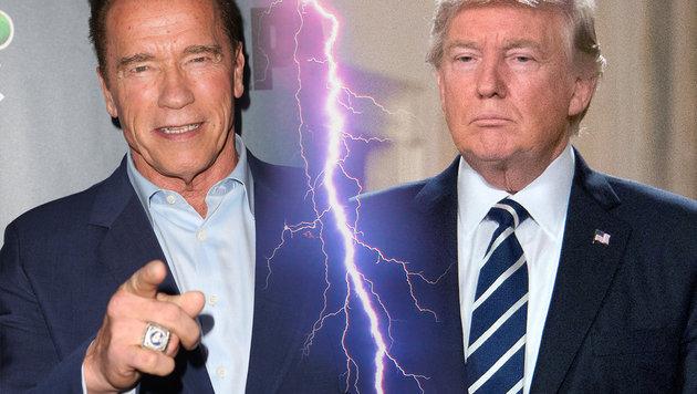 Arnold Schwarzenegger und Donald Trump (Bild: face to face)