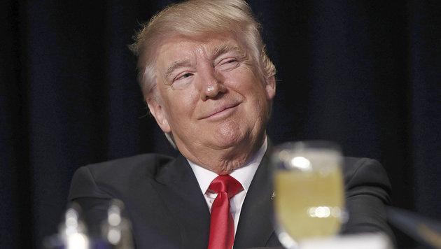 Donald Trump beim nationalen Gebetsfrühstück (Bild: MediaPunch/face to face)