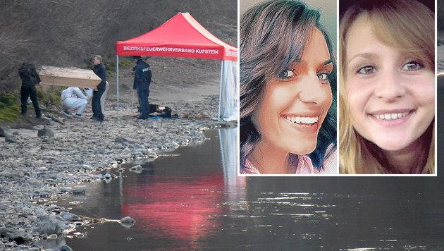 Die Leiche von Lucile K. wurde am Innufer entdeckt, Carolin G. wurde im deutschen Endingen ermordet. (Bild: ZOOM-Tirol, Polizei)