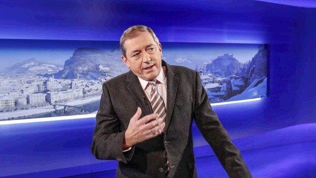 Im ORF nahm Bürgermeister Schaden dann Stellung zu den Vorwürfen. (Bild: Markus Tschepp)