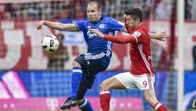 """Schalke """"klaut"""" beim FC Bayern München 1:1-Remis (Bild: AFP)"""