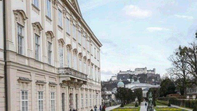Das Schloss Mirabell: Hinter den Mauern brodelt es jetzt gewaltig (Bild: Markus Tschepp)