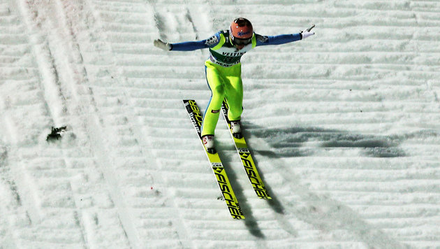 Stefan Krafts Landung (Bild: GEPA)