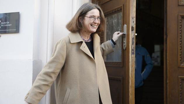 KPÖ-Kandidatin Elke Kahr (Bild: APA/Erwin Scheriau)