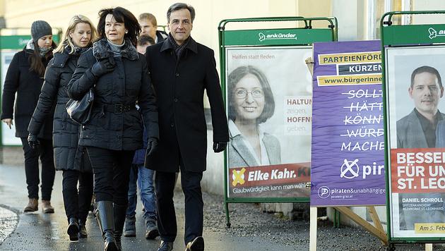 Bürgermeister Siegfried Nagl (ÖVP) (Bild: APA/Erwin Scheriau)