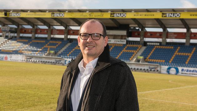 Altachs Neo-Coach Scherb: So wird man noch besser (Bild: APA/STIPLOVSEK DIETMAR)