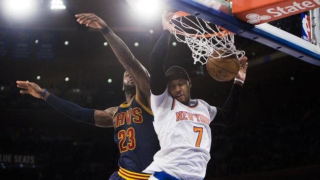 LeBron James knackt 28.000-Punkte-Marke! (Bild: AP)