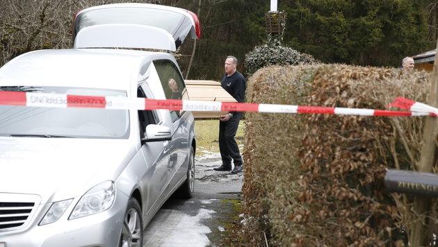 Männliche Leiche nahe Graz entdeckt (Bild: APA/ERWIN SCHERIAU)