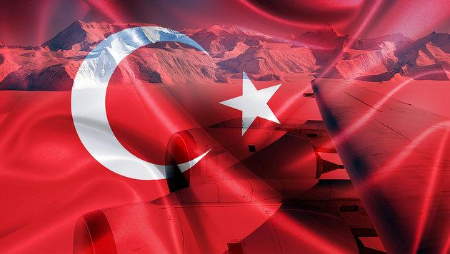 Türkei erhebt nun Ansprüche auf die Antarktis (Bild: AFP/NASA/MICHAEL STUDINGER, thinkstockphotos.de)