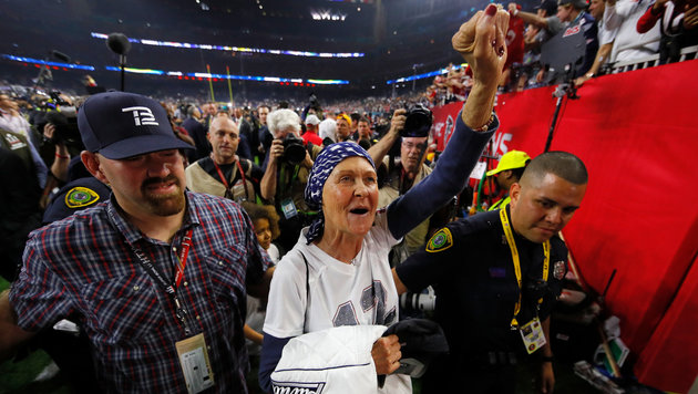 """Brady: """"Jemand hat mein Spieltrikot gestohlen!"""" (Bild: 2017 Getty Images)"""