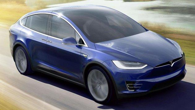 Tesla Model X (Bild: Tesla)