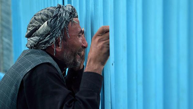 2016 mehr als 11.400 zivile Opfer in Afghanistan (Bild: AFP)