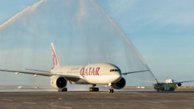 Boeing 777 unternahm längsten Linienflug der Welt (Bild: Qatar Airlines)