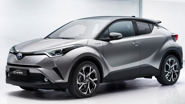 Toyota C-HR (Bild: Toyota)