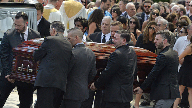 Karina Vetranos Begräbnis im Vorjahr in New York (Bild: ASSOCIATED PRESS)