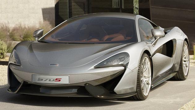 McLaren 570S (Bild: McLaren)