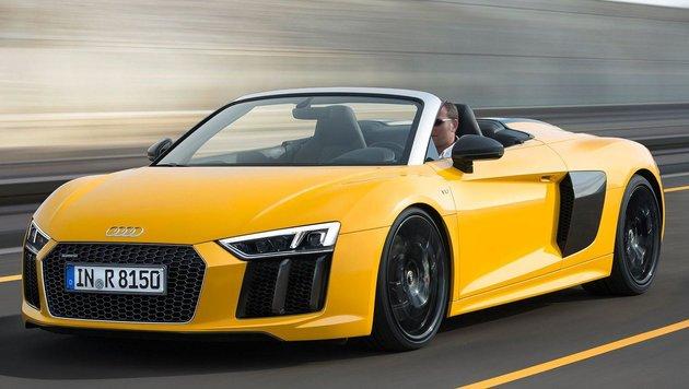 Audi R8 Spyder (Bild: Audi)