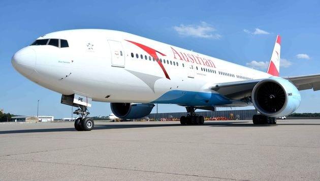 AUA-Boeing musste vorzeitig in Istanbul landen (Bild: Austrian Airlines Group)