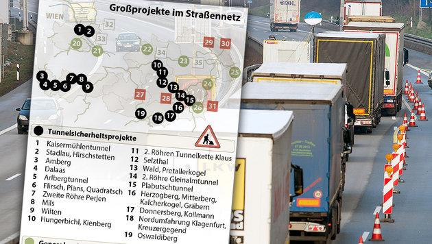 Abfuhr für Sobotkas Kennzeichen-Kontrollen (Bild: dpa/Armin Weigel, APA)