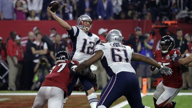 Brady und New England gewinnen den Super Bowl! (Bild: AP)
