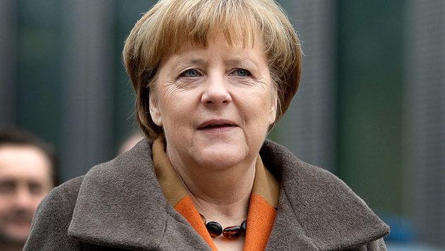 CDU und CSU kürten Merkel zur Kanzlerkandidatin (Bild: Associated Press)