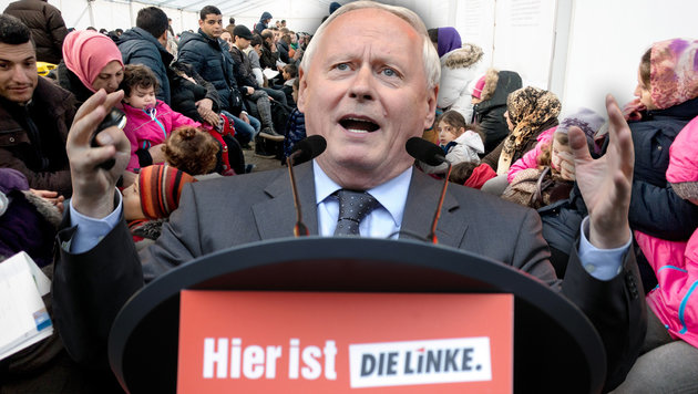 Der deutsche Links-Politiker Oskar Lafontaine (Bild: AFP)