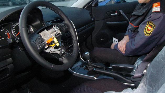 Die polnische Bande erbeutete auch Airbags um Hunderttausende Euro (Bild: GEORG KOECHLER)