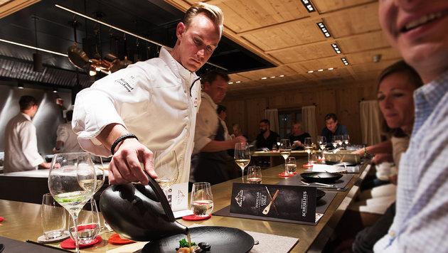 Manuel Grabner hat Restaurant Holzpoldl im Visier. (Bild: Christian Schramm)