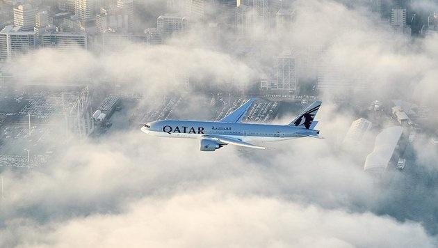 Boeing 777 unternahm längsten Linienflug der Welt (Bild: Twitter.com)