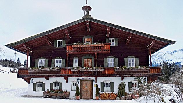 Besuchermagnet in Ellmau: Das Bergdoktorhaus aus der erfolgreichen TV-Serie. (Bild: Doris Vettermann, Kronen Zeitung)